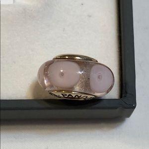 Pink pandora 14k bead